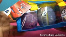 Surprise Eggs Collection Candy Planet Cars Disney Princess Winnie The Pooh Surprise Eggs Unboxing