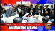 We are not opposing military courts, says Zardari