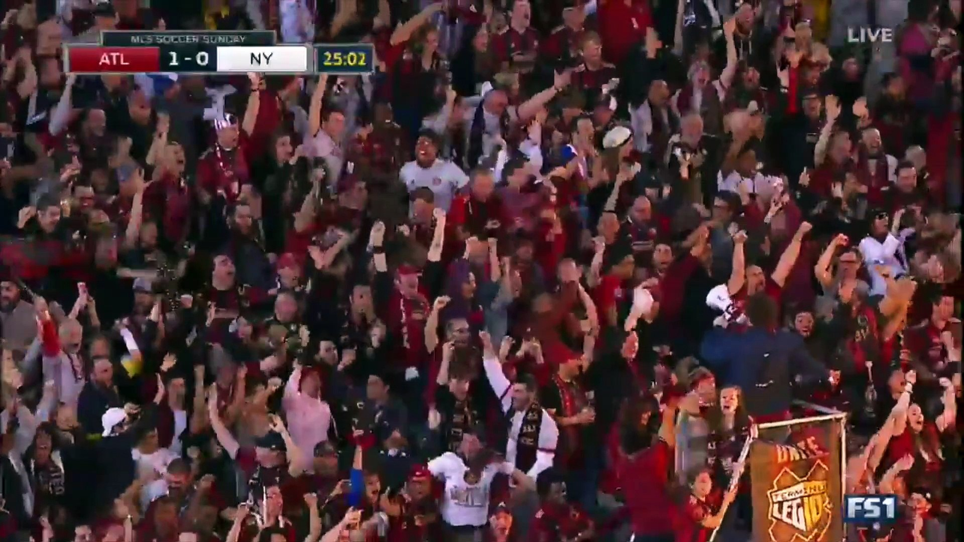 Le premier but en MLS de l'équipe Atlanta United rend fou ses supporters