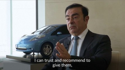Carlos Ghosn steps down as Nissan CEO after 16 years