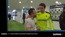 Julien Cazarre tacle Mathieu Valbuena sur sa taille dans J+1 (vidéo)