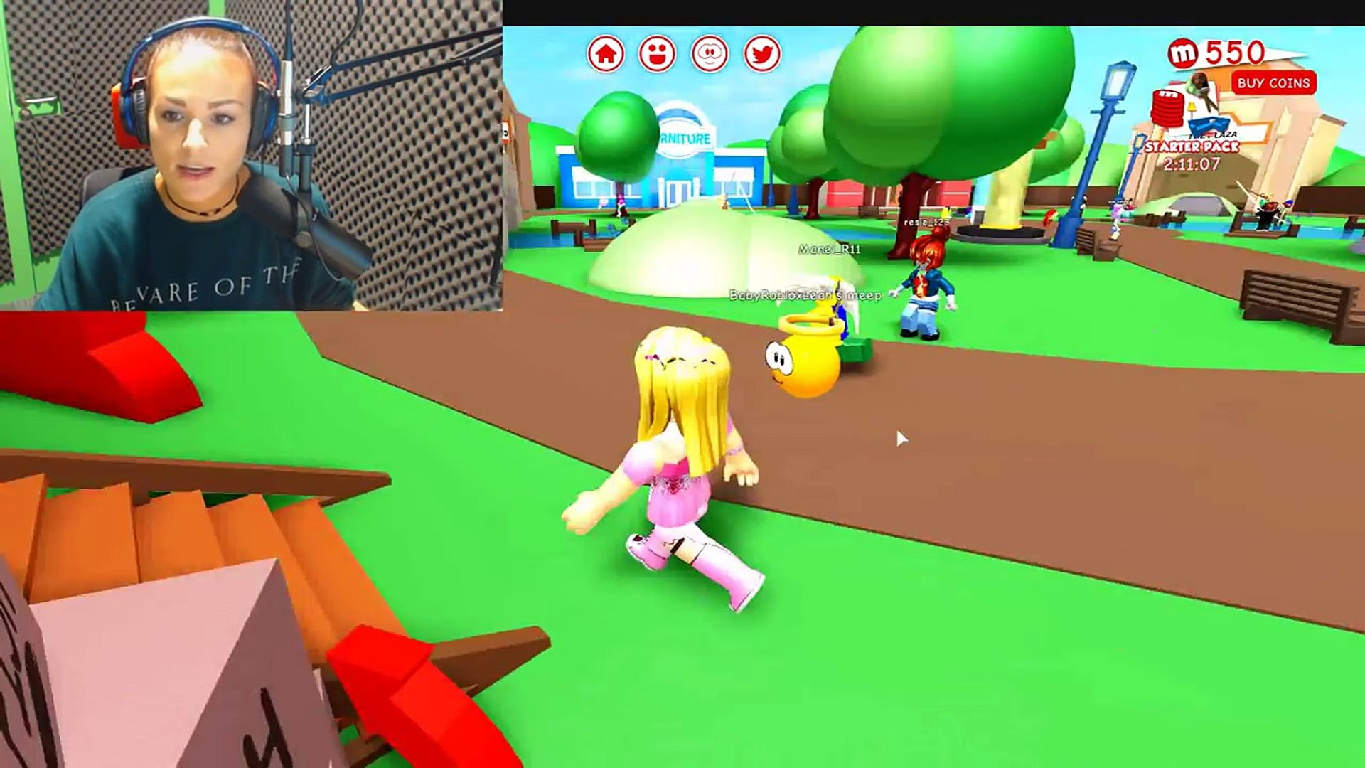 Little Kelly Plays Roblox Meep City