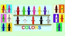 Lápices De Colores De Color De La Canción | Aprender Los Colores | Canciones Infantiles Para Niños | Bebé Canciones Para Niños