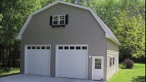 Custom Garages Built by the Amish in Lancaster PA, Chester PA