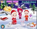 Bebé Hazel Tiempo de Navidad | Santa Claus y Regalos [de dibujos animados Juego de la Película 4 Kids]