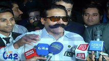 Gullu Butt Media Talk after He Released From Kot Lakhpat Jail