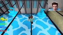 Roblox Aventuras / Escapar de la Maldad de la Panadería Obby / Monstruo Gigante Brindis Ataque!!