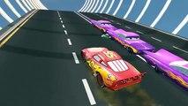 Lightning McQueen Cars 2★ Spiderman, Batman Frozen Elsa & Cars Lightning Mcqueen Nursery Rhymes
