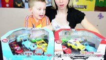 Disney Cars Lightning McQueen RC Toy Car & MACK Truck Playset Toy Cars for Boys Kinder Pla