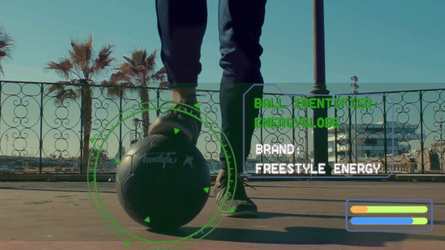 Energyglobe Spot Freestyle Energy with Juanan Freestyle - HD quality - Freestyle soccer balloon