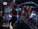 Fiorella Mendez bailando con el chino Miyashiro