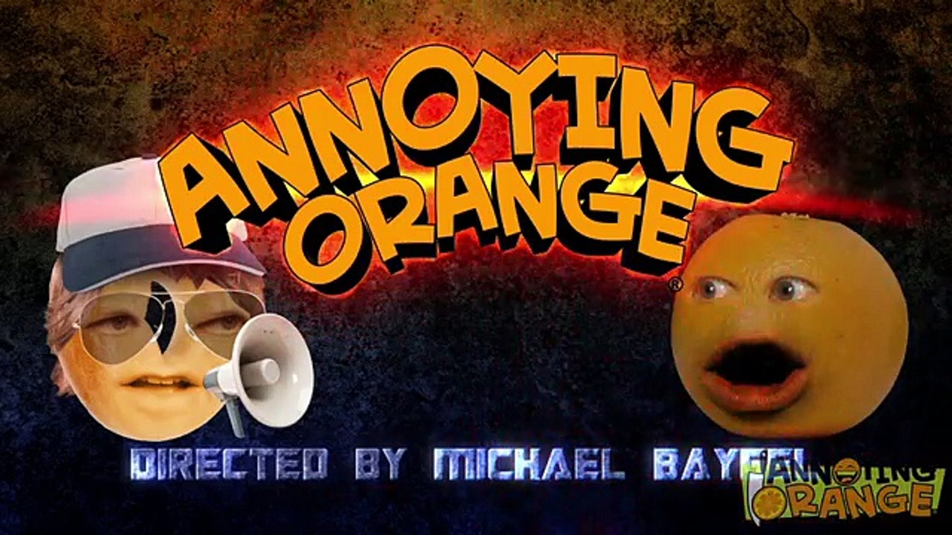 Annoying Orange - Directed By Michael Baygle (Feat. Optimus Prime)