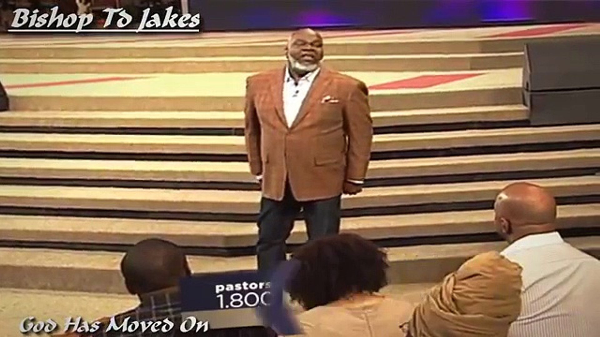 [Bishop TD Jakes Sermon 2016] - God Has Moved On  Sunday, March 29, 2016-  NEW SERMON