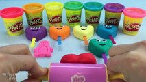 Play Doh Hearts Smiley Face How To Make Play Doh Hearts Smiley Face Fun and Creative for K