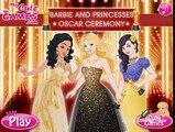 Barbie y las Princesas Ceremonia de los premios Oscar: Juegos de Vestir Barbie y Princesas Ceremonia de los premios Oscar