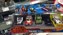 Disney STAR WARS cars from HOTWEELS 5 pack exclusive vehicles