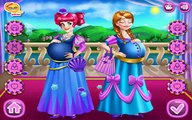 Pregnant Princesses Elsa and Anna with Babies - Care and Dress Up Baby Games