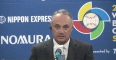 """""""Clásico Mundial de Beisbol siempre ha sido rentable"""" Rob Manfred"""