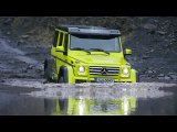 The Mercedes-Benz G-Class G 500 4x4²  Off-road Test Drive