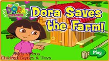 DORA THE EXPLORER - Dora Saves the Farm Adventure | Dora Online Game HD (Game for Children