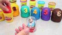 Play Doh Surprise Eggs Number Playdough Toy 플레이도우 서프라이즈 에그 와 뽀로로 폴리 타요 장난감 YouTube