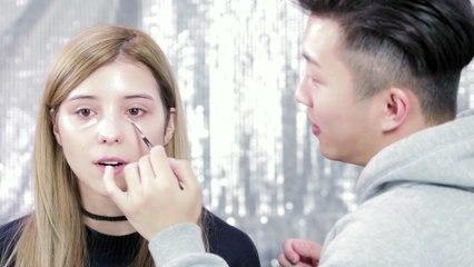 BlackPink Lisa Makeup (Feat. Shangrilayt) | 블랙핑크 리사 메이크업 | RIckyKAZAF