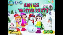 Baby Lisi Winter Party Game Movie Party Episode for Kids