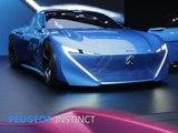 Peugeot Instinct en direct du salon de Genève 2017