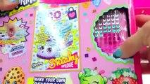 Shopkins los Marcadores Crayola y Lippy Labios Página para Colorear de Juguetes