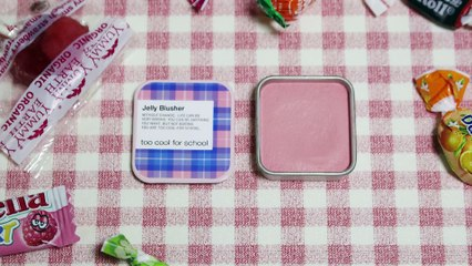[Road Shop Blusher] 5 Attractive Colors of Too Cool for School (Jelly Blusher) 다섯가지 매력을 가진 투쿨포스쿨 블러셔 전색상 발색 (체크젤리블러셔)