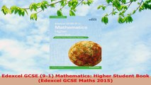 DOWNLOAD  Edexcel GCSE 91 Mathematics Higher Student Book Edexcel GCSE Maths 2015
