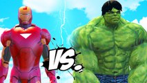 The Incredible Hulk vs Iron Man (Mark 6) - Epic Superheroes Battle