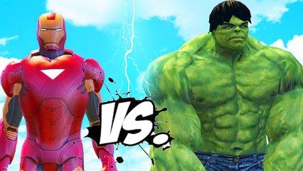 The Incredible Hulk vs Iron Man (Mark 6) - Epic Superheroes Battle