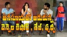 Sai Dharam Tej, Vennela Kishore and Prudhvi make fun of Anasuya || #Winner || Winner team interview