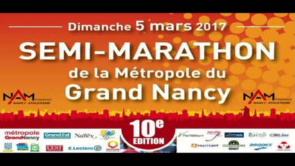 Semi-marathon du Grand Nancy 2017