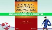 Free ePub Statistical Methods for Survival Data Analysis Free Online