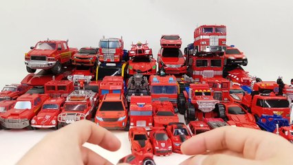 Red Color Transformers Hello Carbot Tobot  50 Vehicle Transformation Robot Car Toys