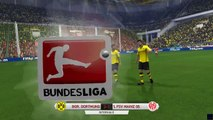 Borussia Dortmund v Mainz - Bundesliga - Simulation FIFA EA