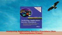 READ  Analyzing Application Service Providers Sun Microsystems Press