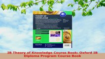 READ  IB Theory of Knowledge Course Book Oxford IB Diploma Program Course Book