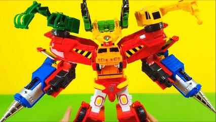 Hello Carbot Hyper Bildian 6 Combination toy Starbuster Proud Z Cran Duke 헬로카봇 하이퍼빌디언 카봇 6단합체 장난감 스타블래스터 프라우드제트 크랜 듀크