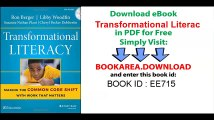 Transformational Literacy Making the Common Core Shift with Work That Matters