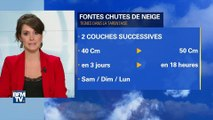 Avalanche à Tignes: près d'un mètre de neige est tombé en quatre jours