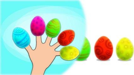 Gummy Bear Surprise Eggs Finger Family
