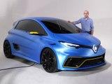 Découvrir la Renault Zoé e-Sport Concept (2017)