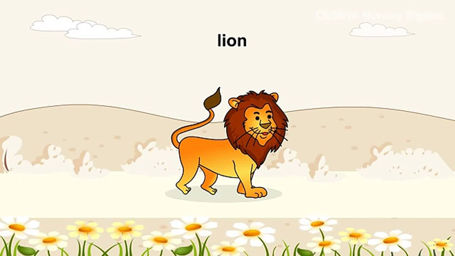 Learn Pet Animals Song - Animals Name with Picture - Children Rhyme Song