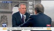 François Bayrou, invité de Bourdin direct sur BFMTV - 070317