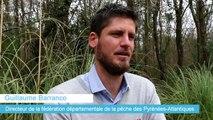 Guillaume Barranco, directeur de la fédération de la pêche des Pyrénées-Atlantiques