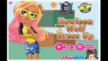 ☆ Monster High Wolf Babies - Howleen Wolf Babysitting & Dress Up Game For Little Kids & To