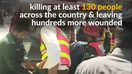 Many killed in Lahore shopping district bomb
